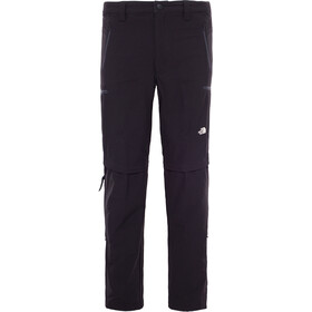 The North Face Exploration Pantalon convertible avec fermeture éclair Homme, tnf black
